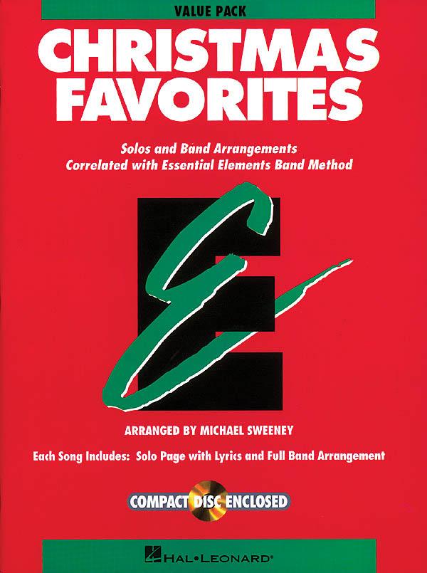 Essential Elements Christmas Favorites - Value Pak: Concert Band: Score  Parts &