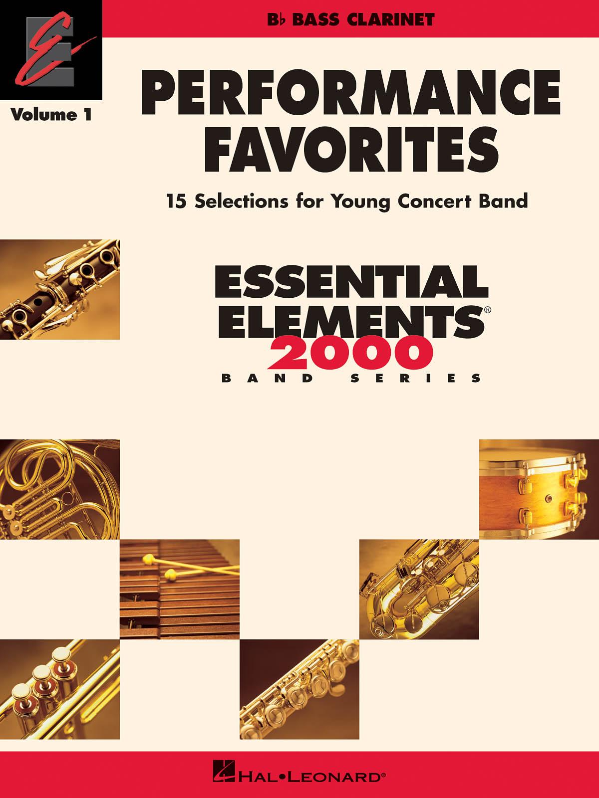 Performance Favorites  Vol. 1 - Bass Clarinet: Concert Band: Part