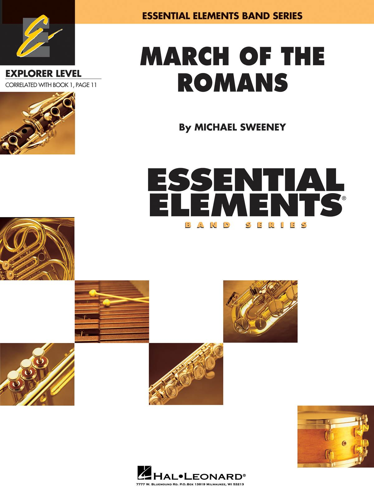 Michael Sweeney: March of the Romans: Concert Band: Score and Parts