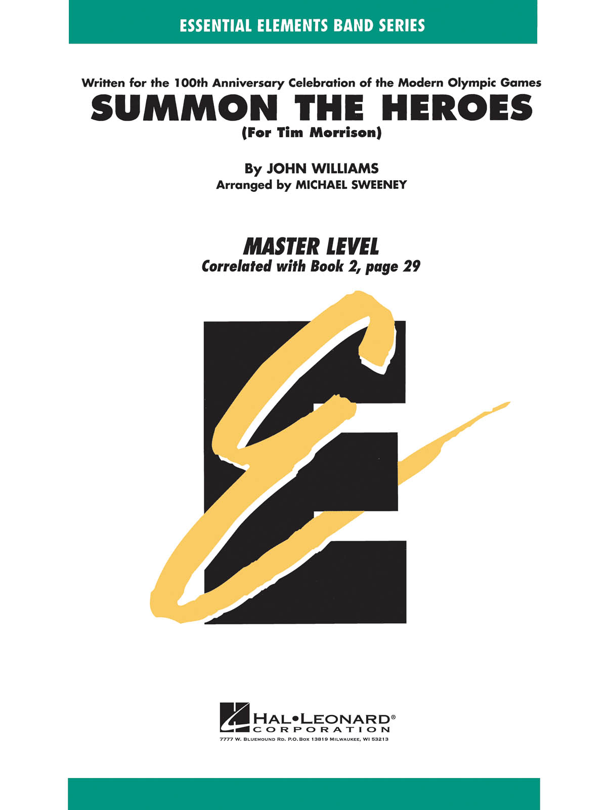John Williams: Summon The Heroes: Concert Band: Score & Parts