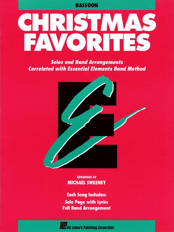 Essential Elements Christmas Favorites - Bassoon: Concert Band: Part