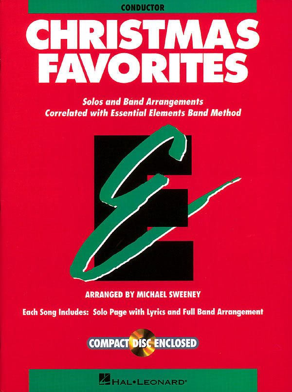 Essential Elements Christmas Favorites - Conductor: Concert Band: Book & CD