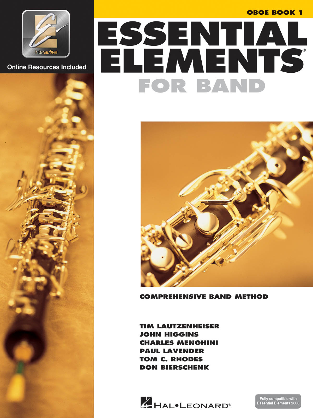 Essential Elements for Band - Book 1 - Oboe: Concert Band: Book & Audio