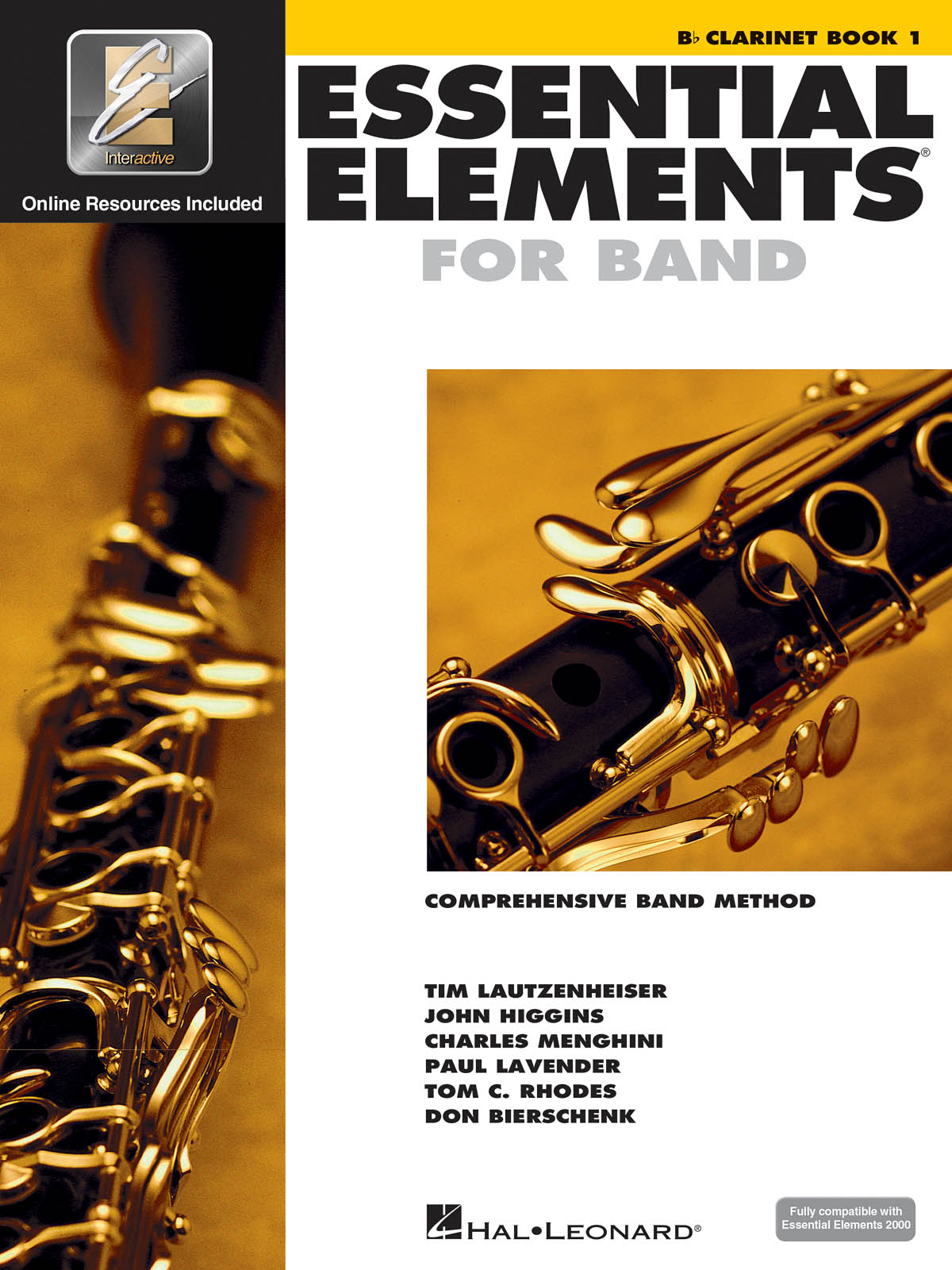 Essential Elements for Band - Book 1 - Clarinet: Concert Band: Instrumental