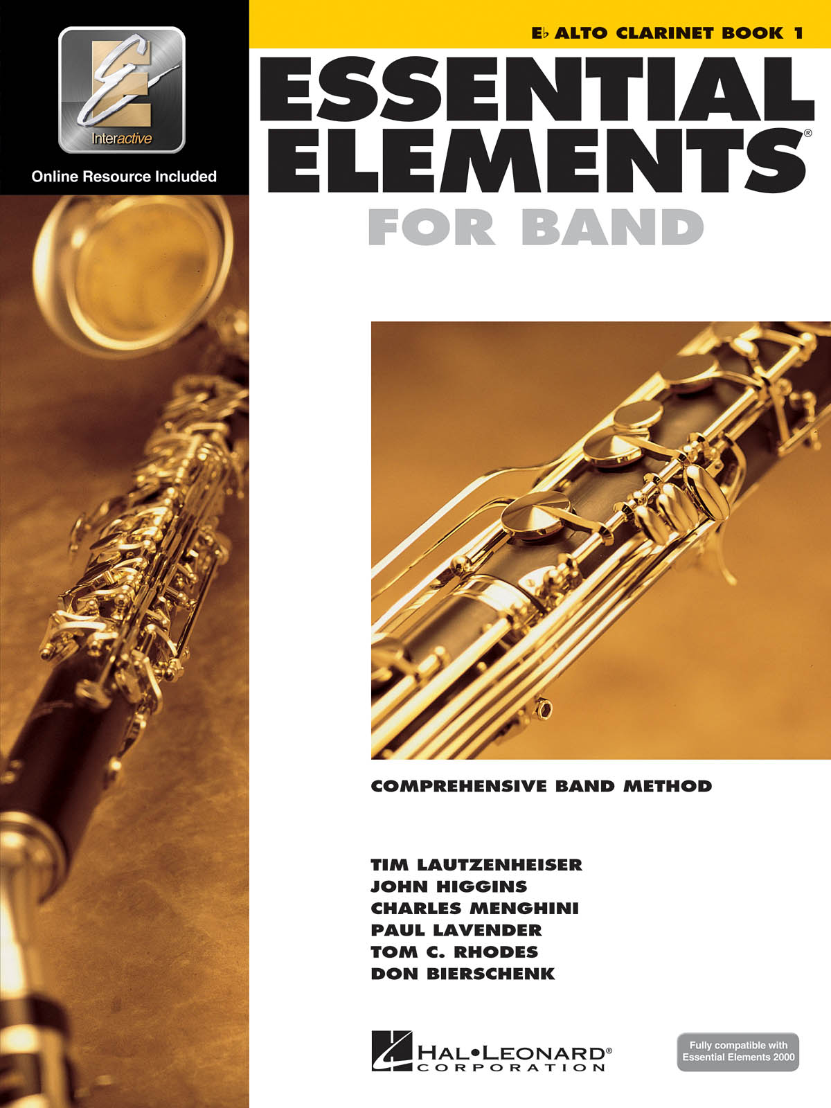 Essential Elements for Band - Book 1 - Alto Clar.: Concert Band: Score