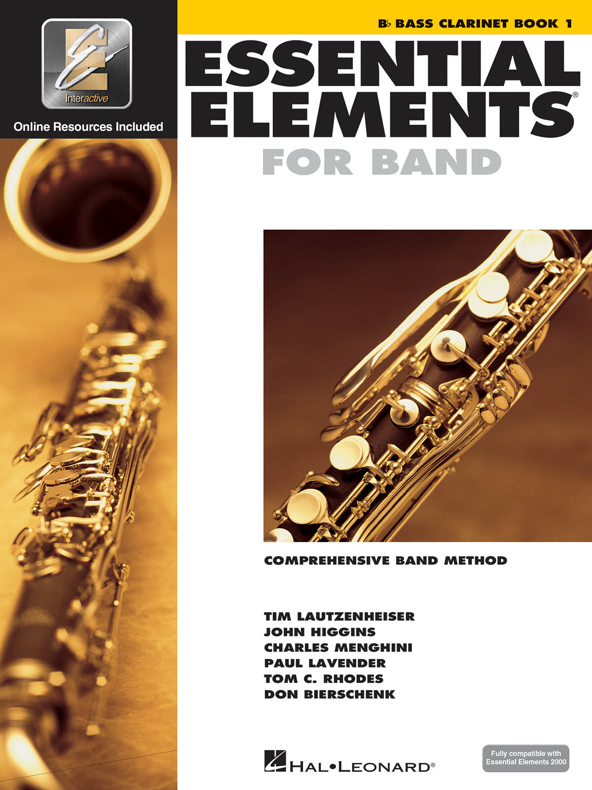 Essential Elements for Band - Book 1 - Bass Clar.: Concert Band: Instrumental