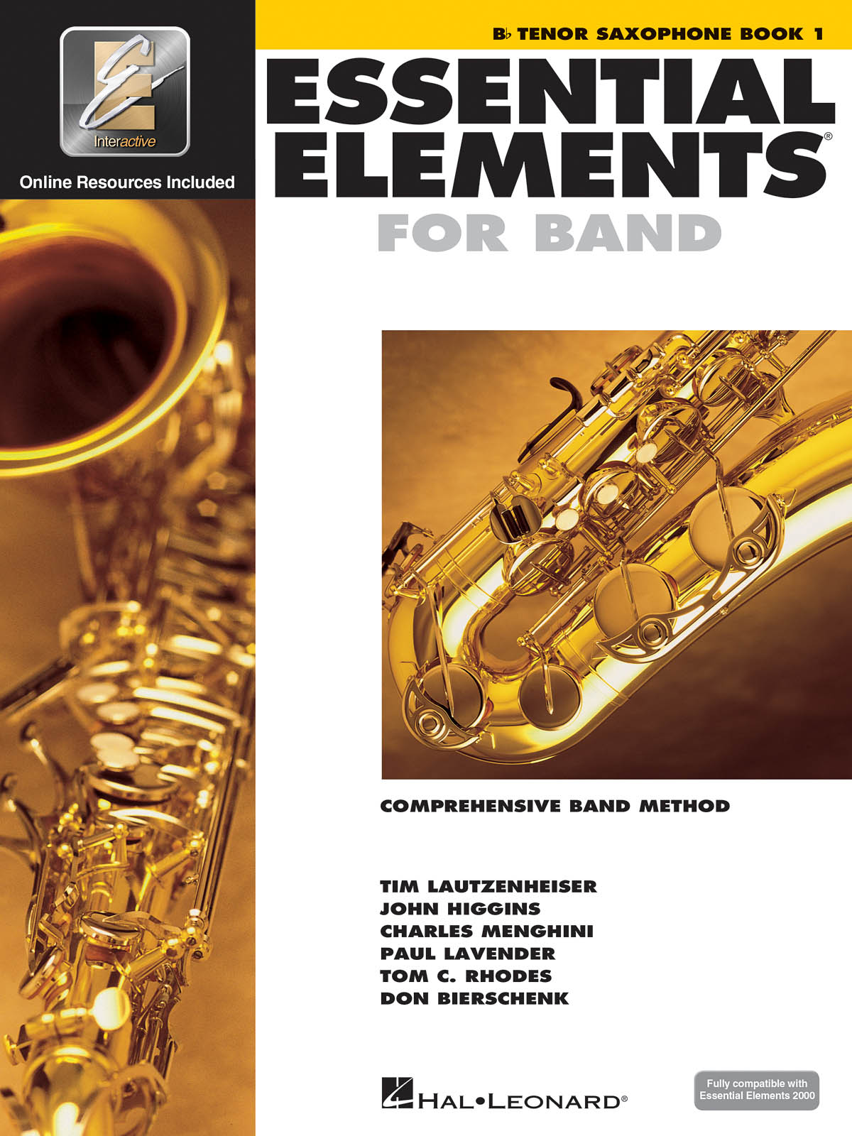 Essential Elements for Band - Book 1 - Tenor Sax: Concert Band: Instrumental