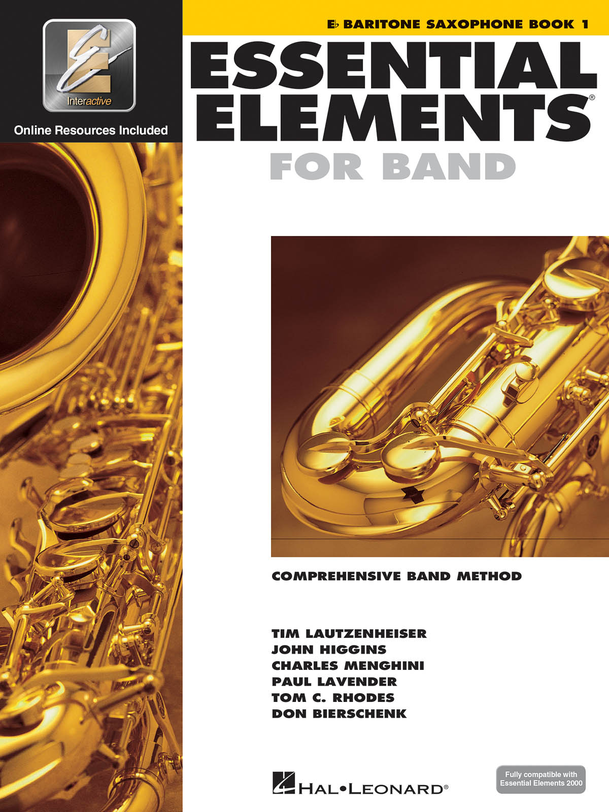 Essential Elements for Band - Book 1 - Bari Sax: Concert Band: Instrumental