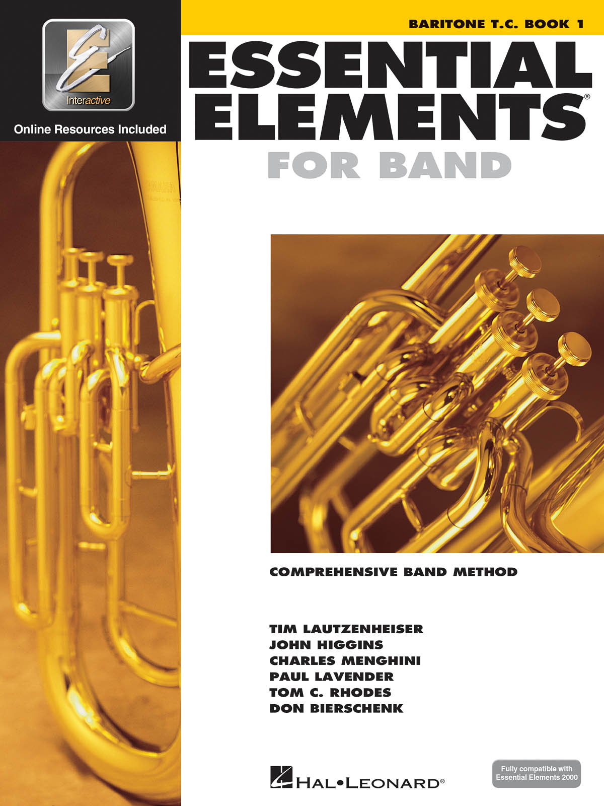 Essential Elements for Band - Book 1 - Baritone TC: Concert Band: Instrumental