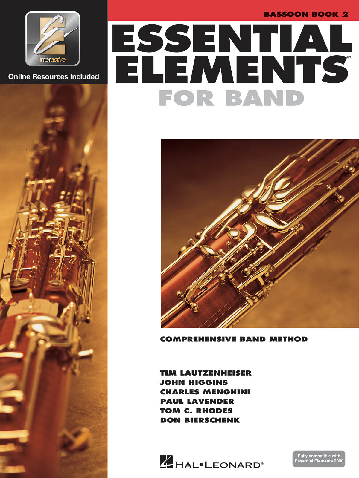 Essential Elements for Band - Book 2 - Bassoon: Concert Band: Book & Audio
