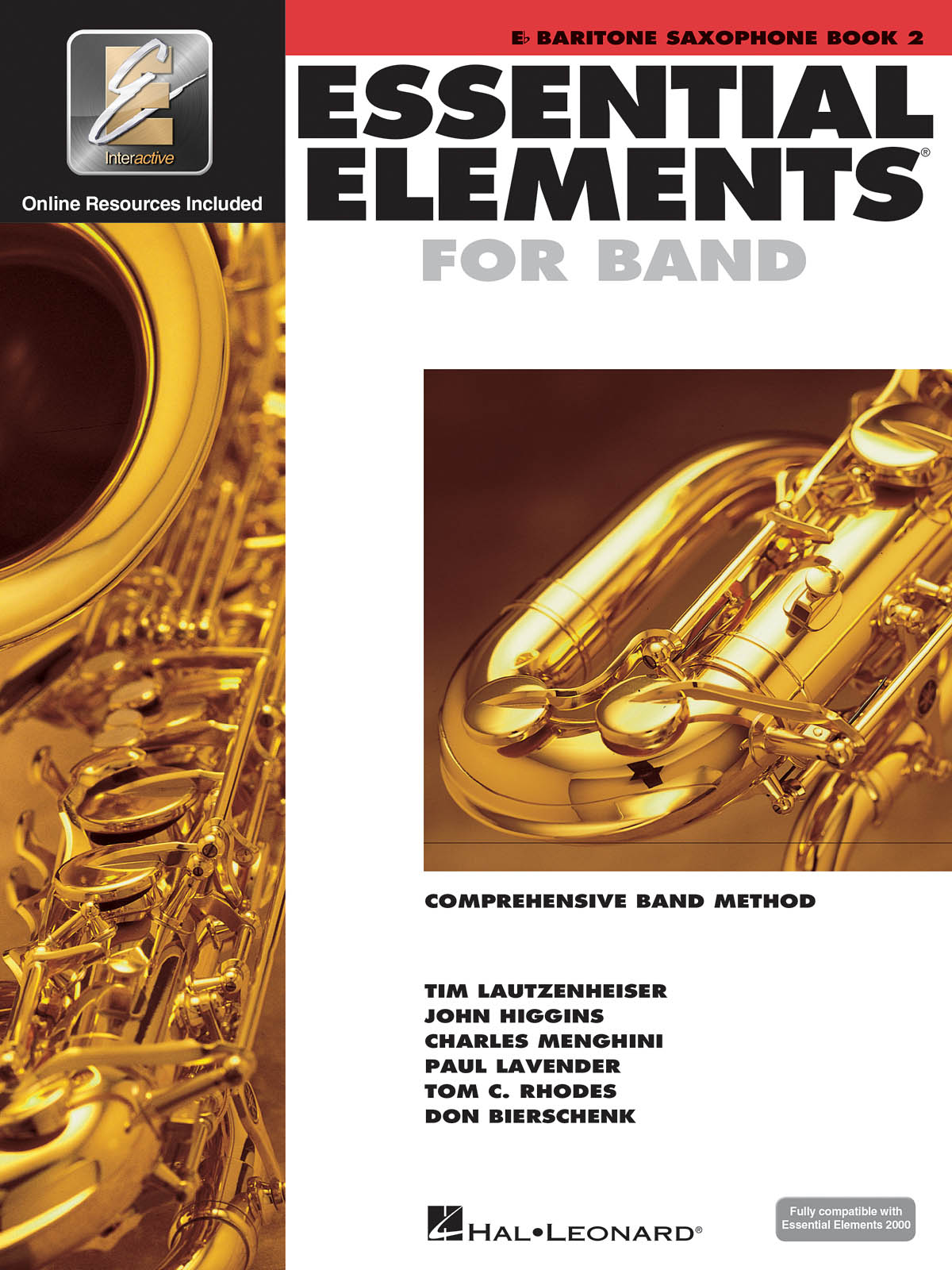 Essential Elements for Band - Book 2 - Bari Sax: Concert Band: Score