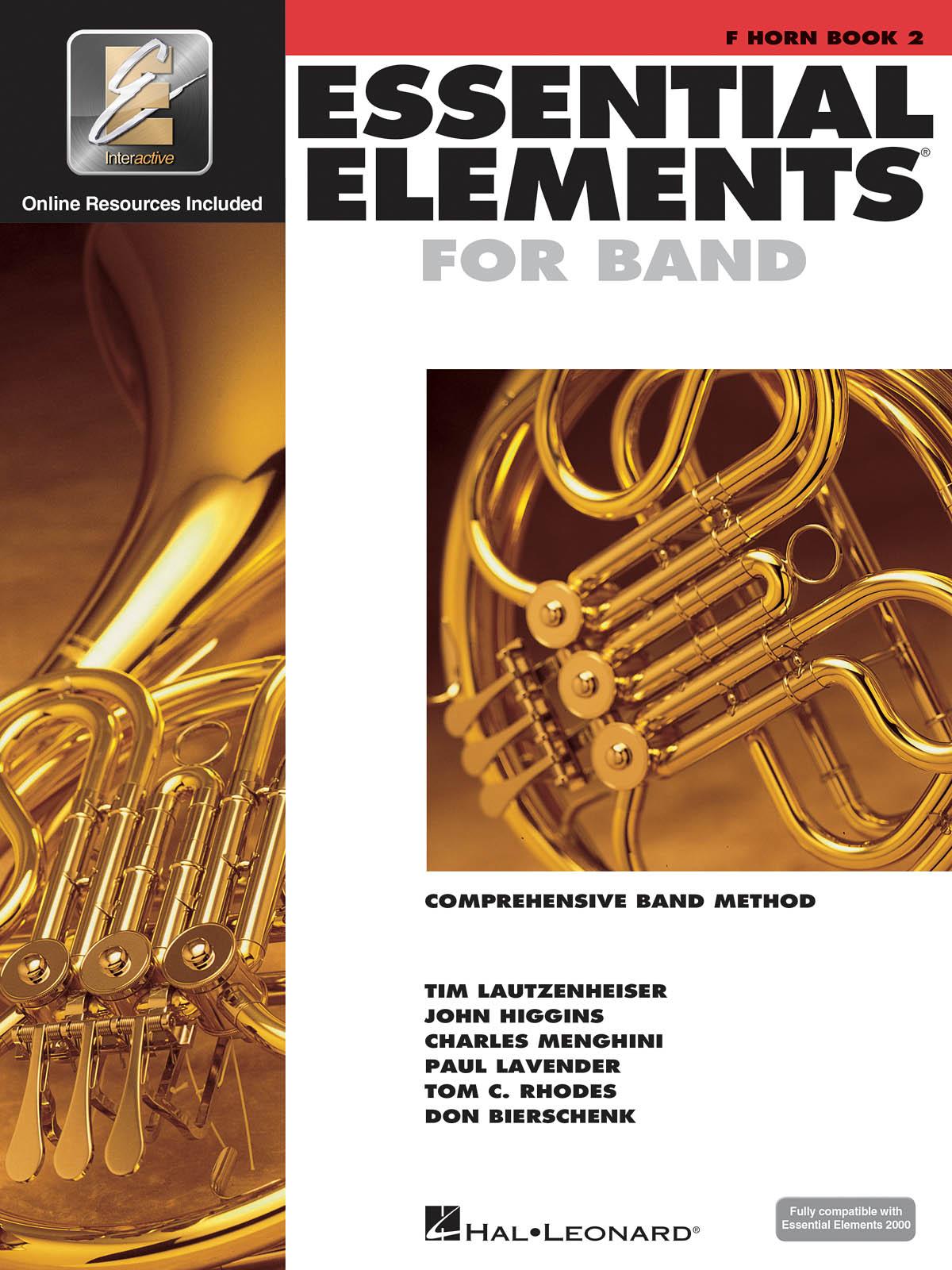 Essential Elements for Band - Book 2 - Horn: Concert Band: Instrumental Tutor