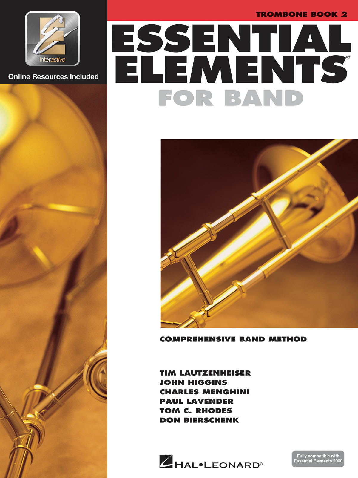Essential Elements for Band - Book 2 - Trombone: Concert Band: Instrumental