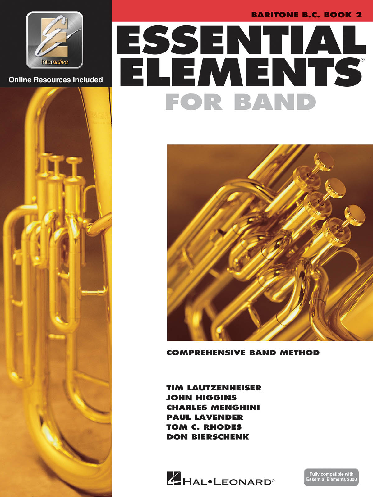 Essential Elements for Band - Book 2 - Baritone BC: Concert Band: Book & Audio