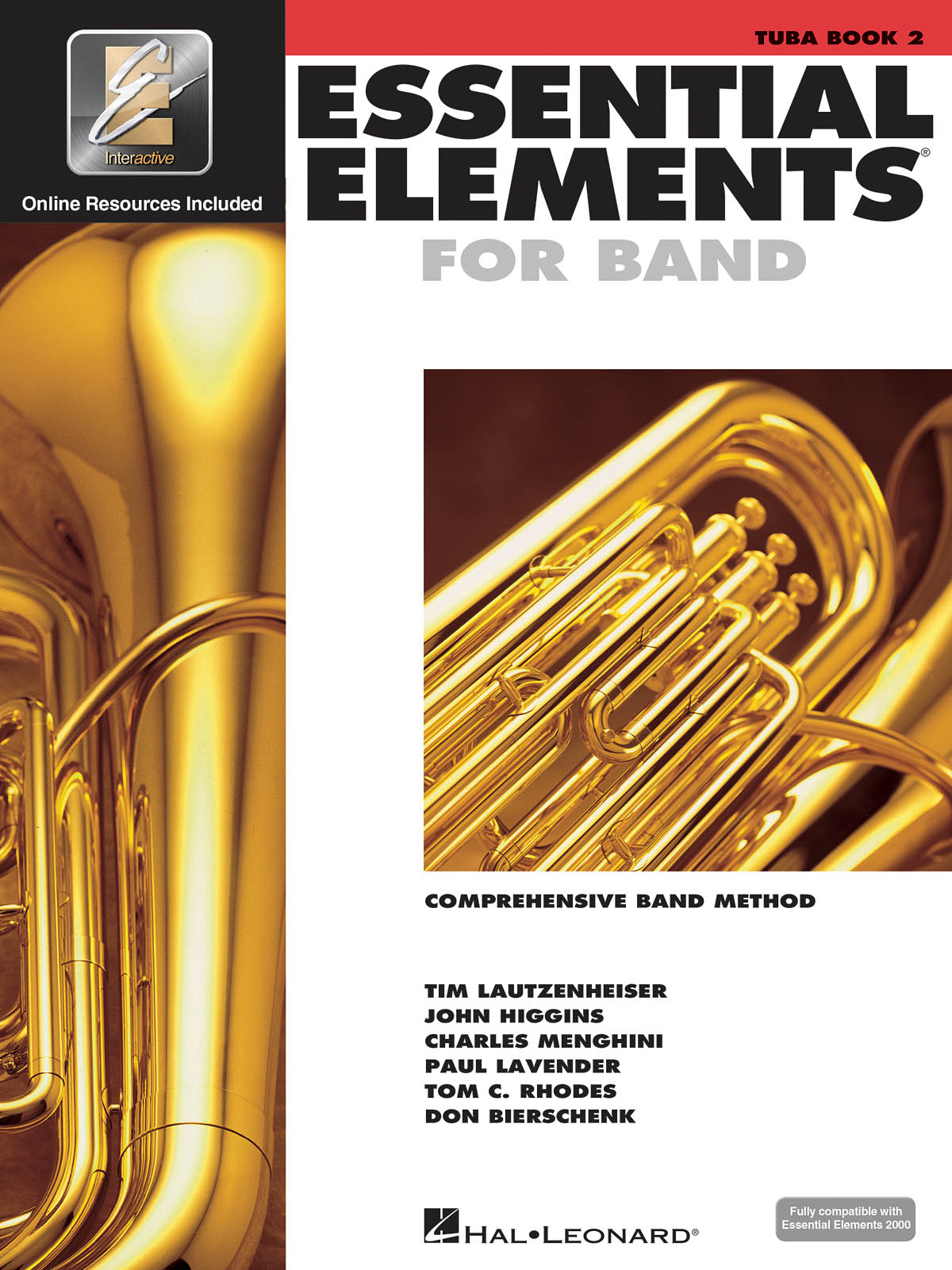 Essential Elements for Band - Book 2 - Tuba: Concert Band: Score
