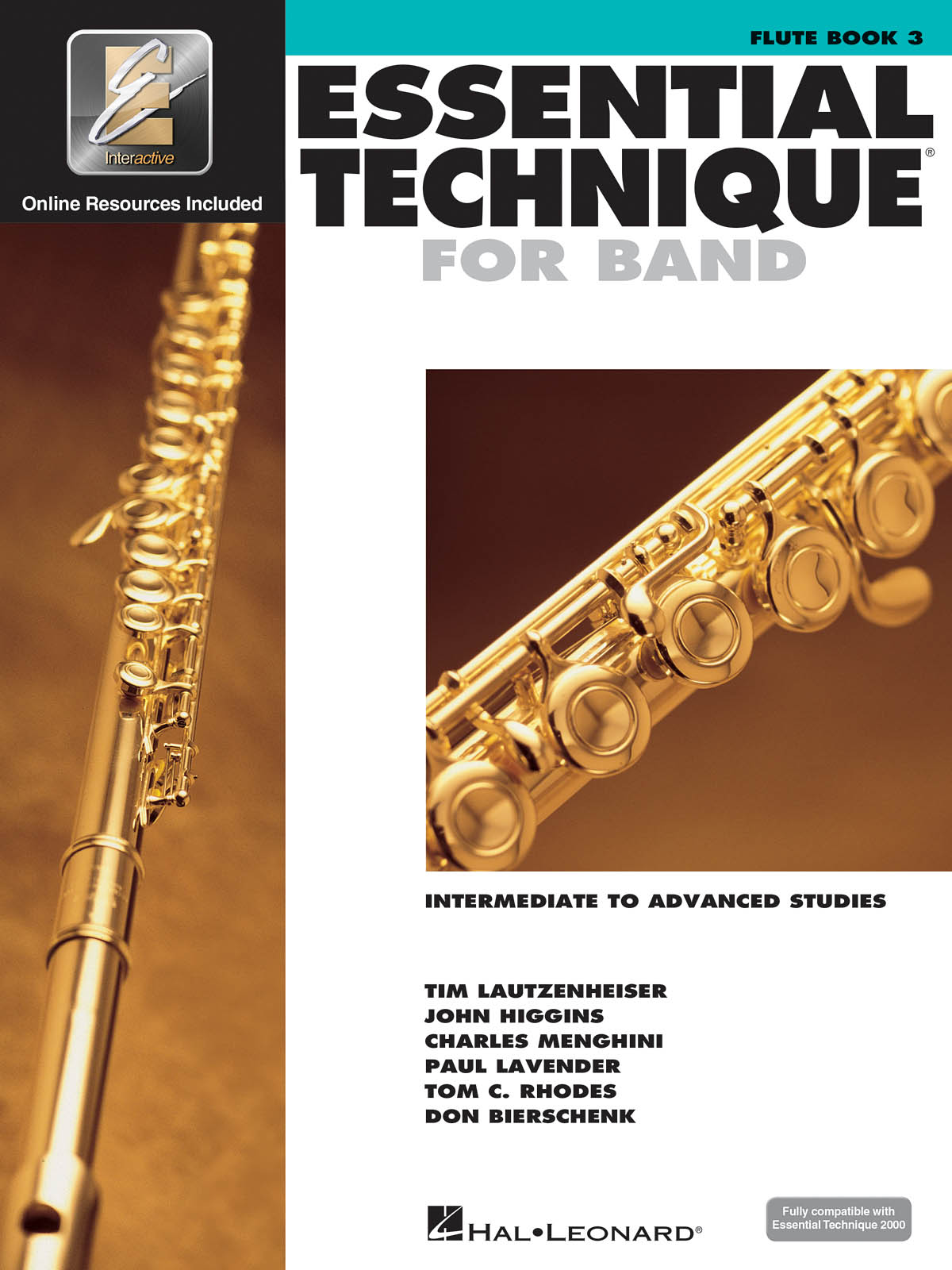 Essential Elements for Band - Book 3 - Flute: Flute Solo: Book & Audio