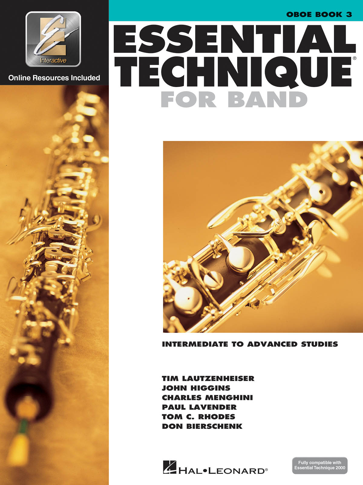 Essential Elements for Band - Book 3 - Oboe: Oboe Solo: Book & Audio