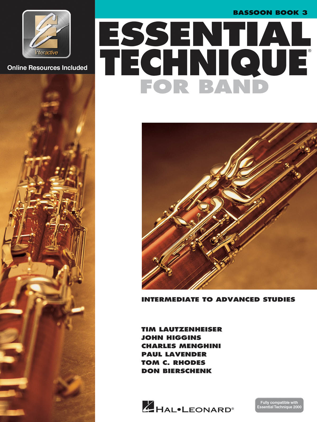 Essential Elements for Band - Book 3 - Bassoon: Bassoon Solo: Book & Audio