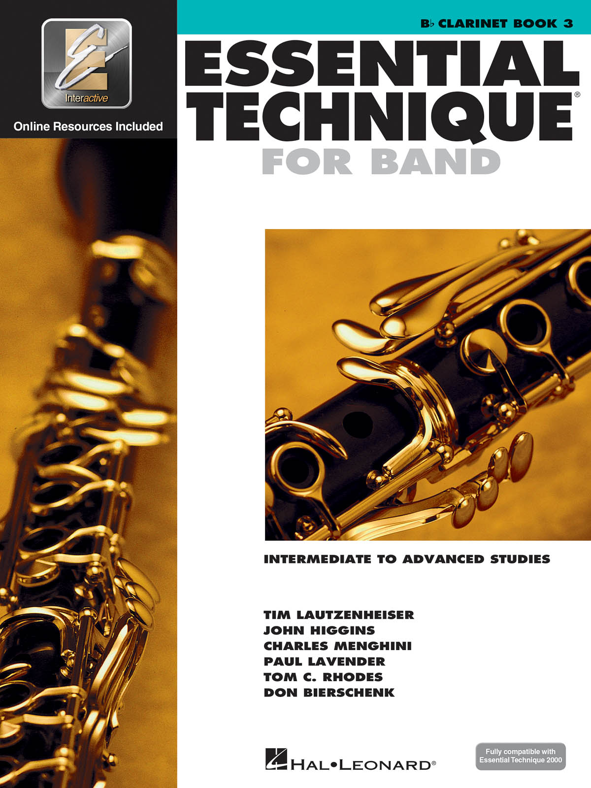 Essential Elements for Band - Book 3 Bass Clarinet: Clarinet Solo: Book & Audio