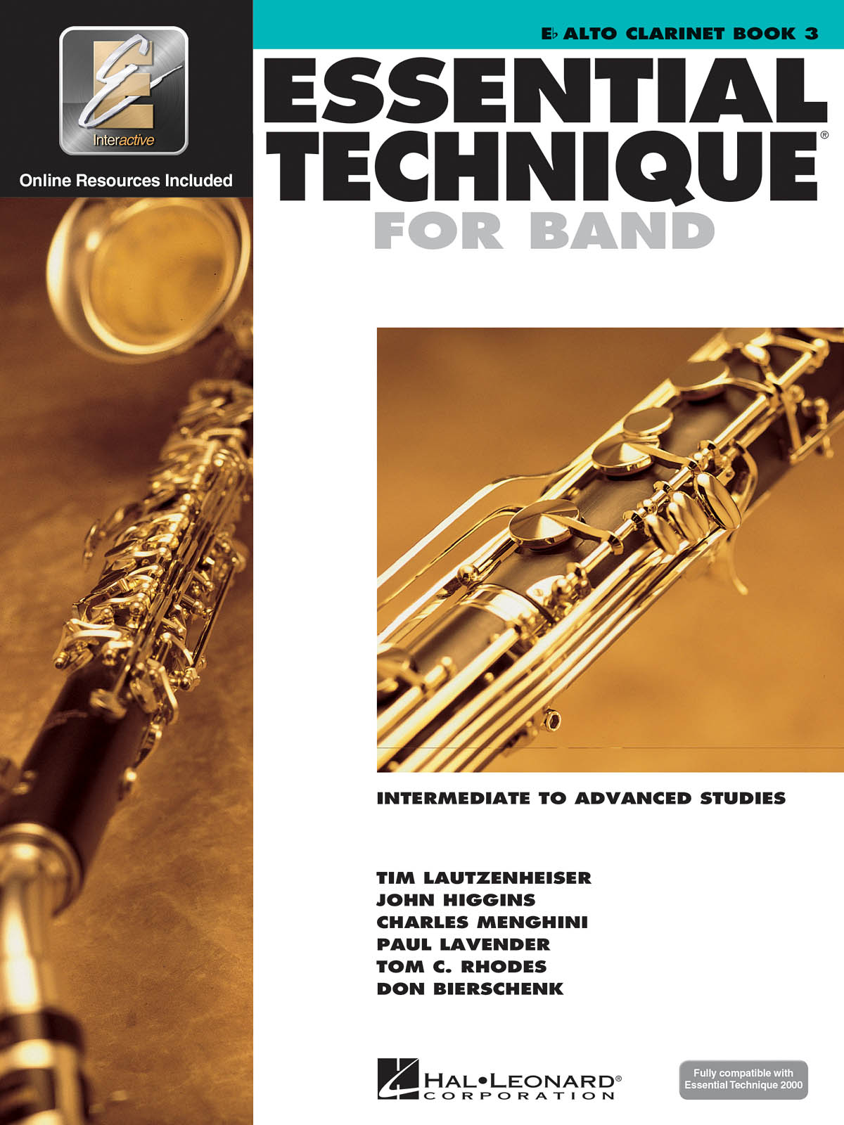 Essential Elements for Band - Book 3 Alto Clarinet: Clarinet Solo: Book & Audio