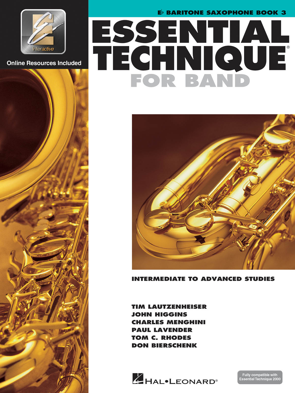 Essential Elements for Band - Book 3 - Bari. Sax: Saxophone: Book & Audio