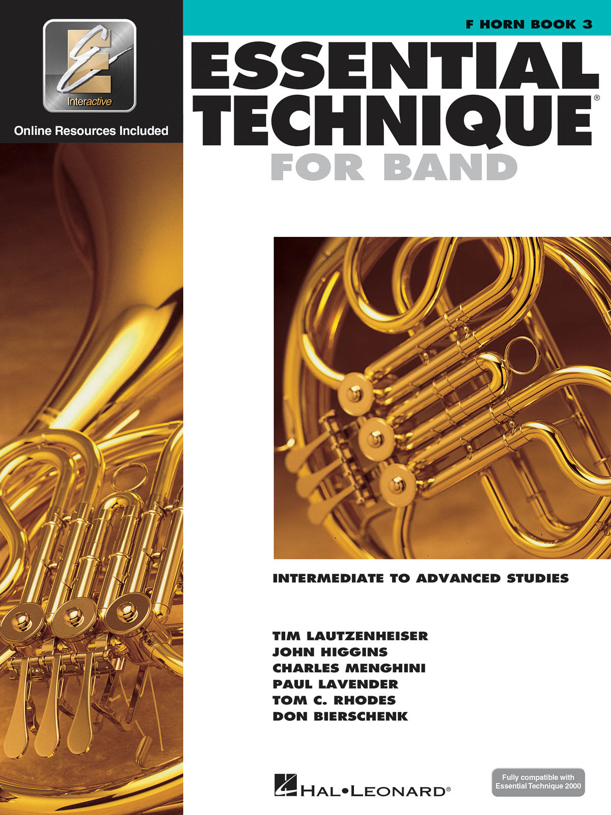 Essential Elements for Band - Book 3 - Horn: French Horn Solo: Book & Audio