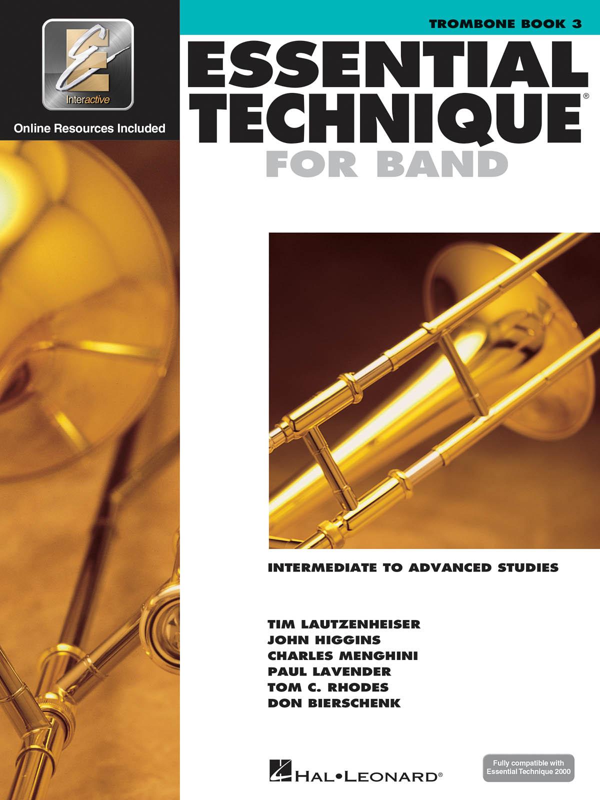 Essential Elements for Band - Book 3 - Trombone: Trombone Solo: Score