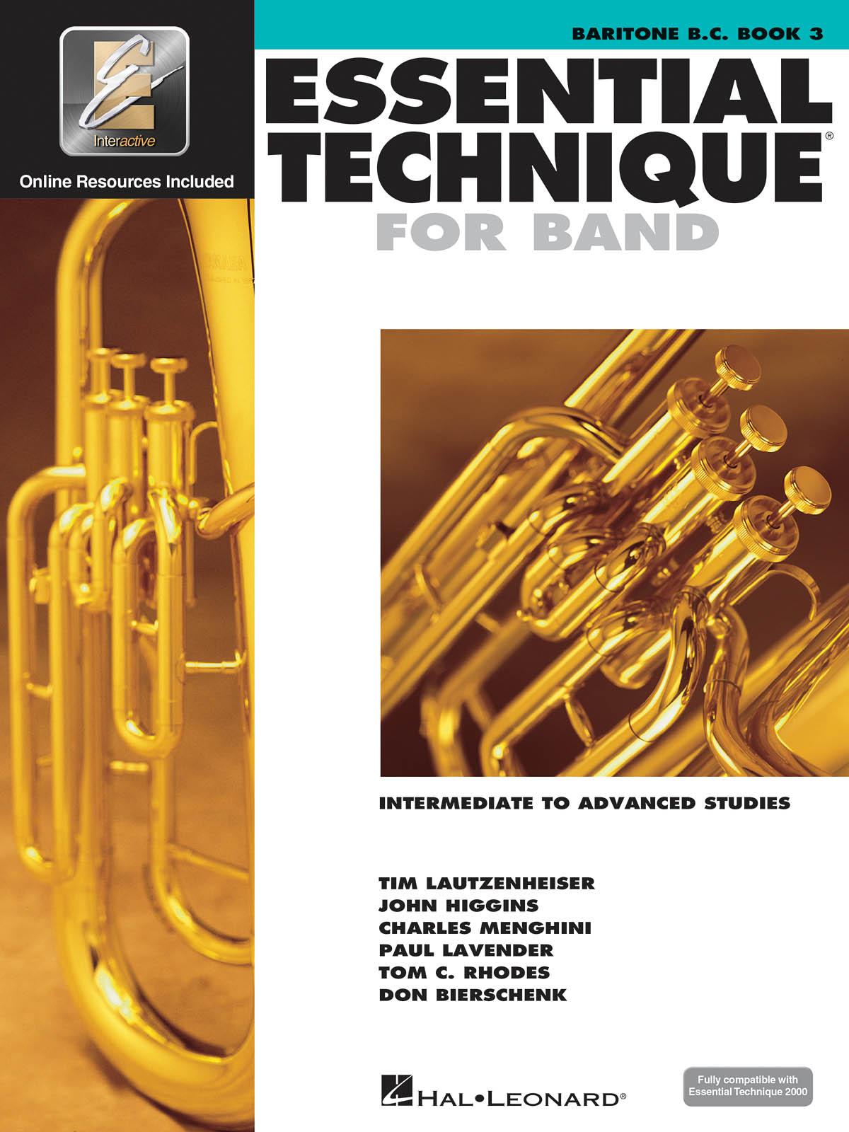 Essential Elements for Band - Book 3 - Baritone BC: Baritone: Book & Audio