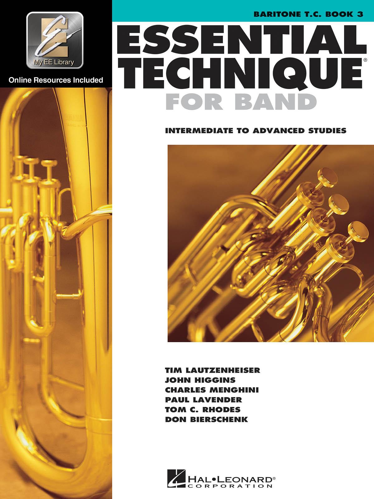 Paul Lavender: Essential Elements for Band - Book 3 - Baritone TC: Baritone: