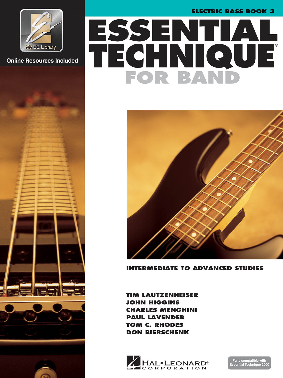 Essential Elements for Band - Book 3 - Bass Guitar: Bass Guitar Solo: Book &