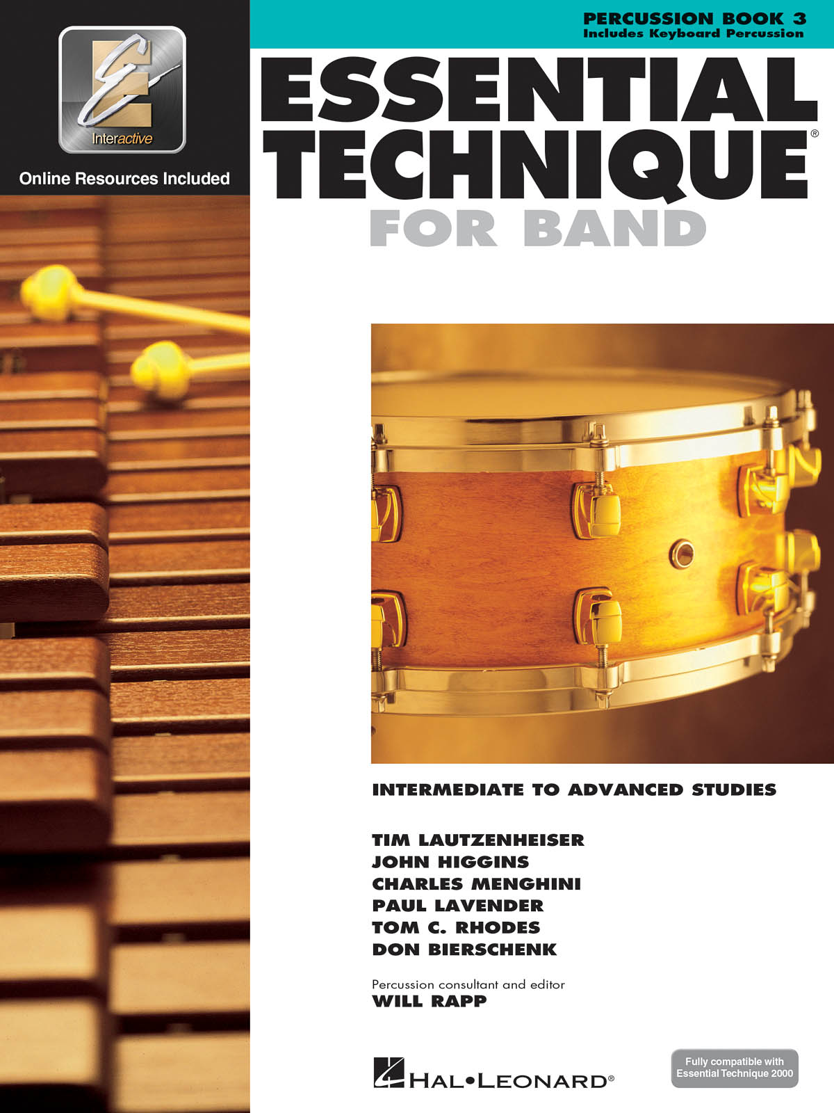 Essential Elements for Band - Book 3 - Percussion: Other Percussion: Book &