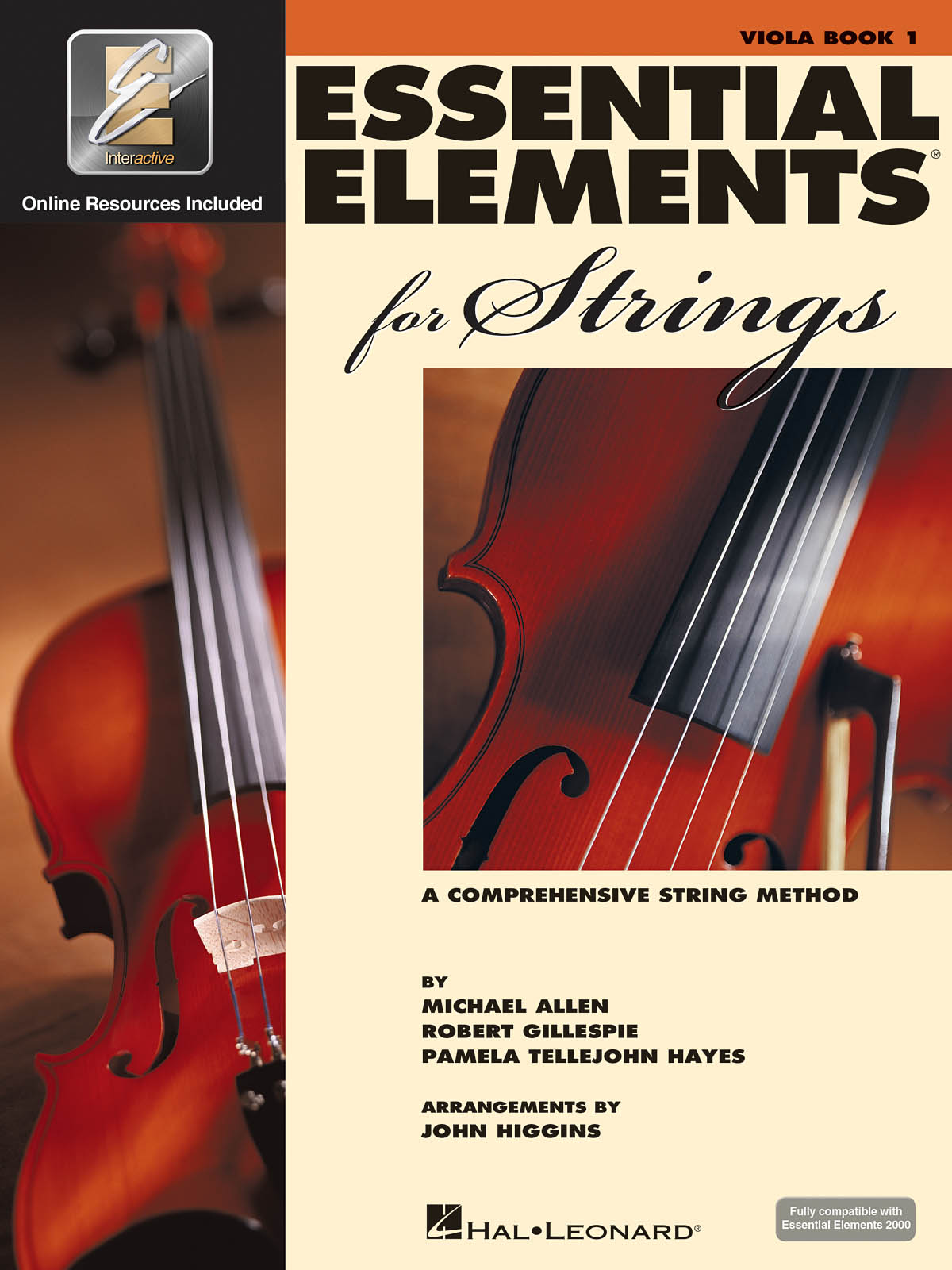 Essential Elements for Strings - Book 1 with EEi: Viola: Instrumental Tutor