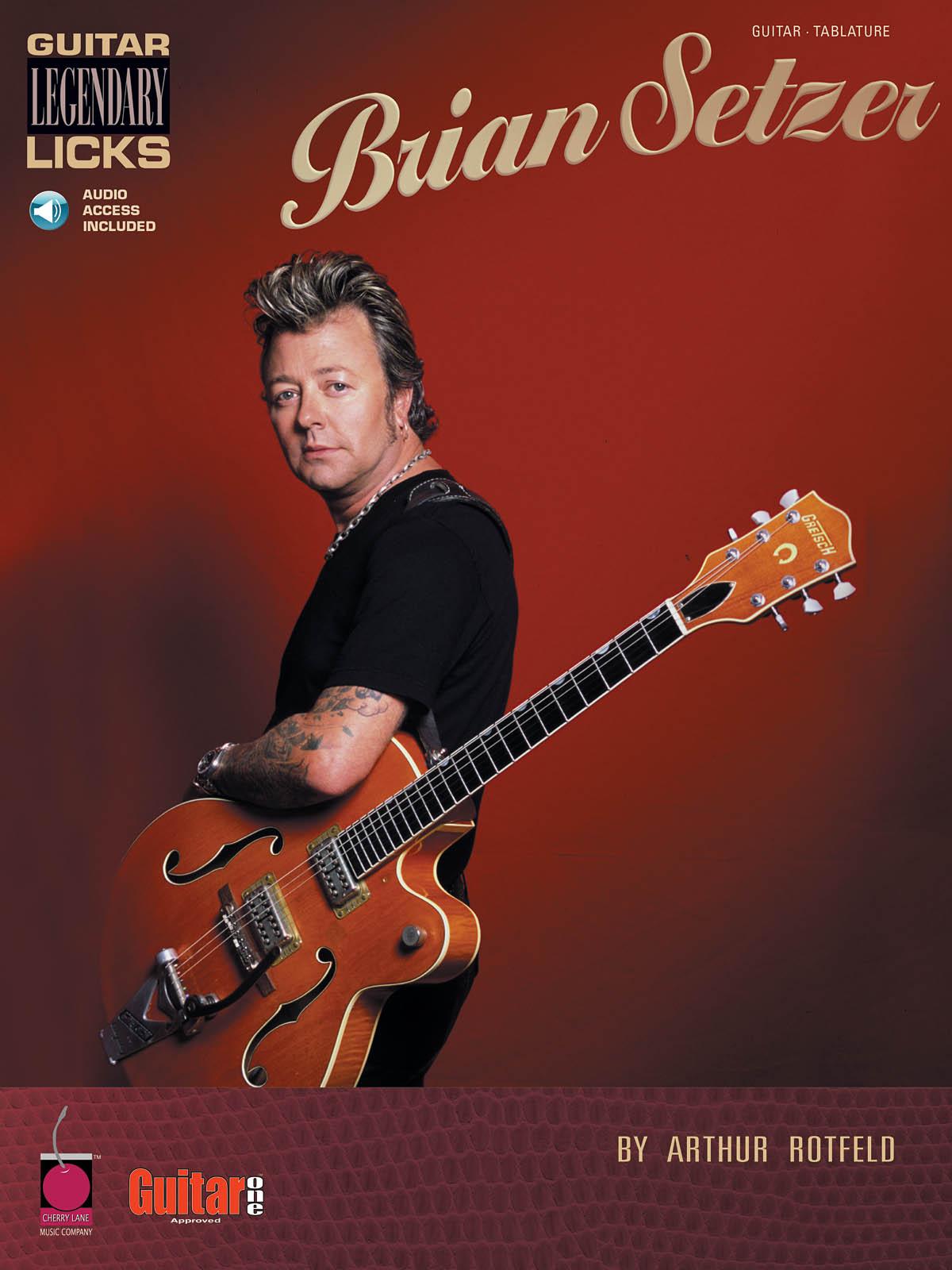 Arthur Rotfeld: Brian Setzer - Guitar Legenda Licks: Guitar Solo: Instrumental