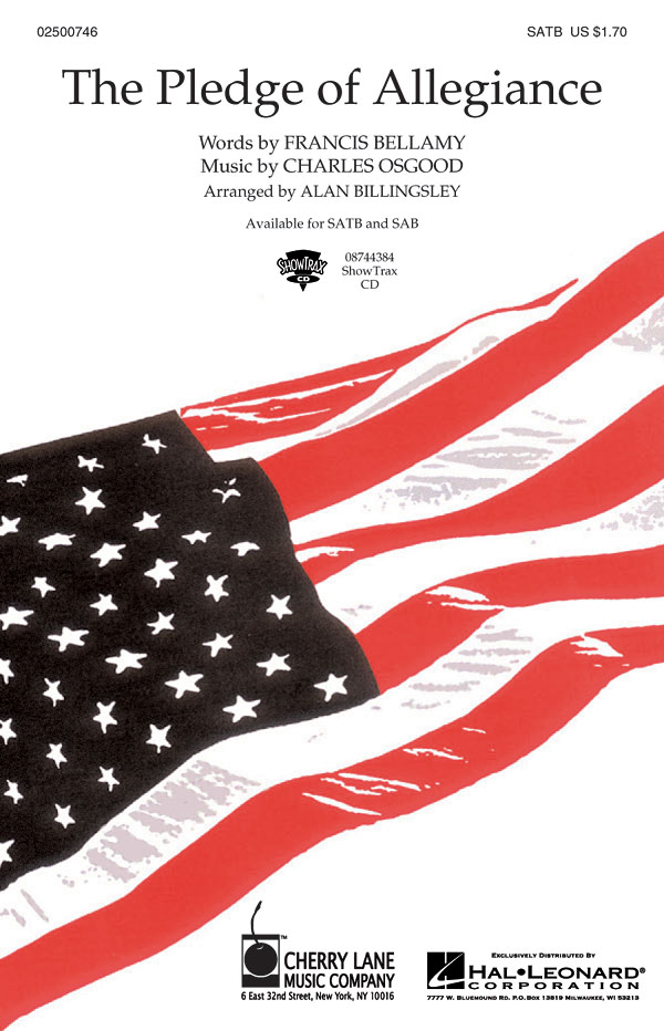 Charles Osgood: The Pledge of Allegiance: Mixed Choir a Cappella: Vocal Score