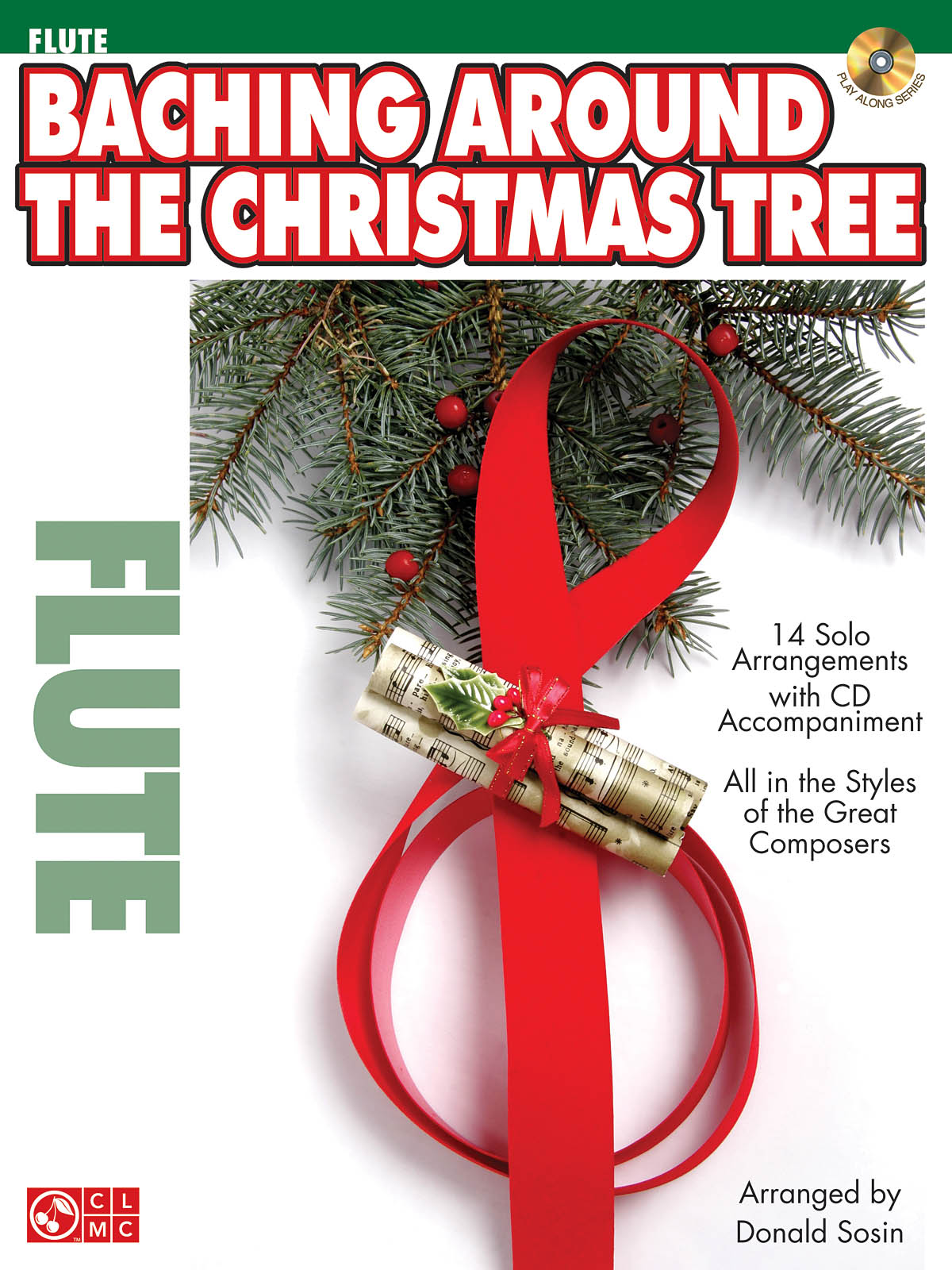 Baching Around the Christmas Tree - Flute: Flute Solo: Backing Tracks