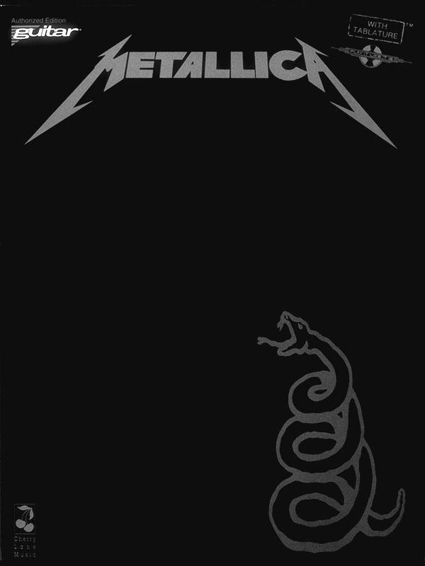 Metallica: Metallica - Black: Guitar Solo: Instrumental Album