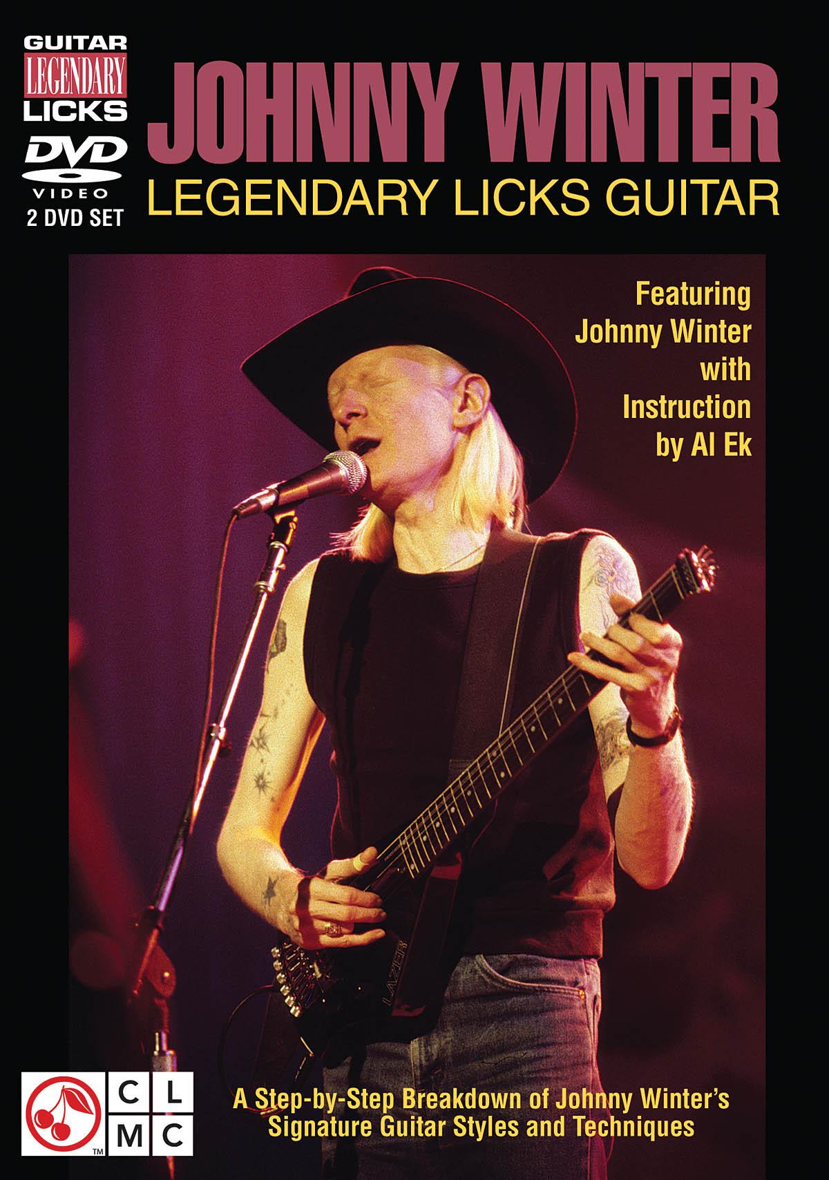 Johnny Winter: Johnny Winter - Legendary Licks Guitar: Guitar Solo: Instrumental