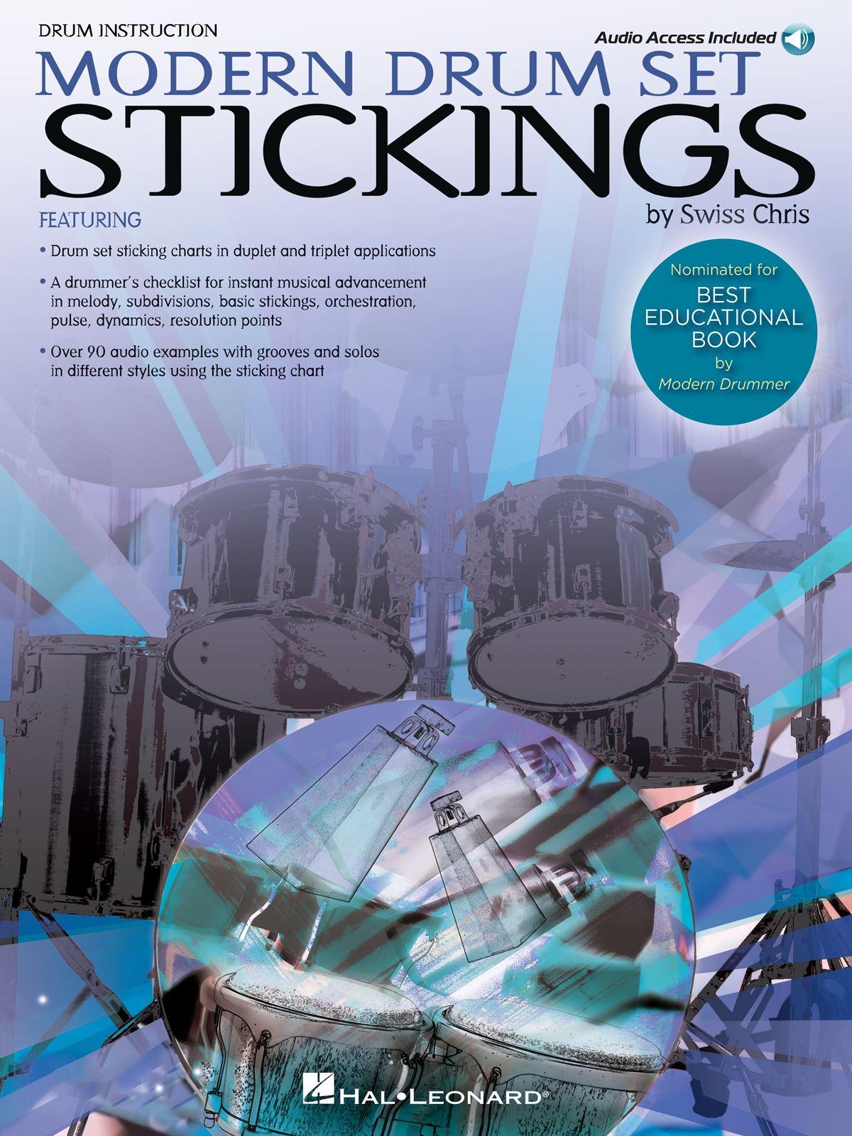 Modern Drum Set Stickings: Drums: Instrumental Tutor