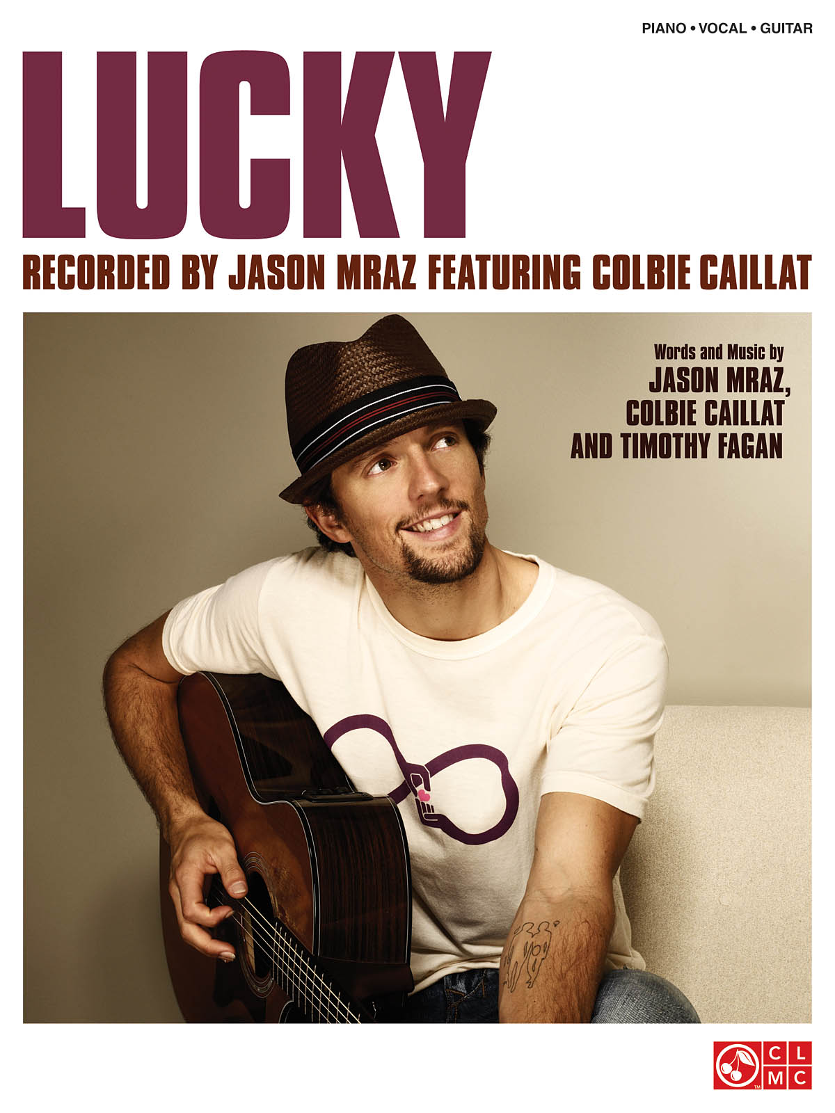 Colbie Caillat Jason Mraz: Lucky: Piano  Vocal and Guitar: Mixed Songbook