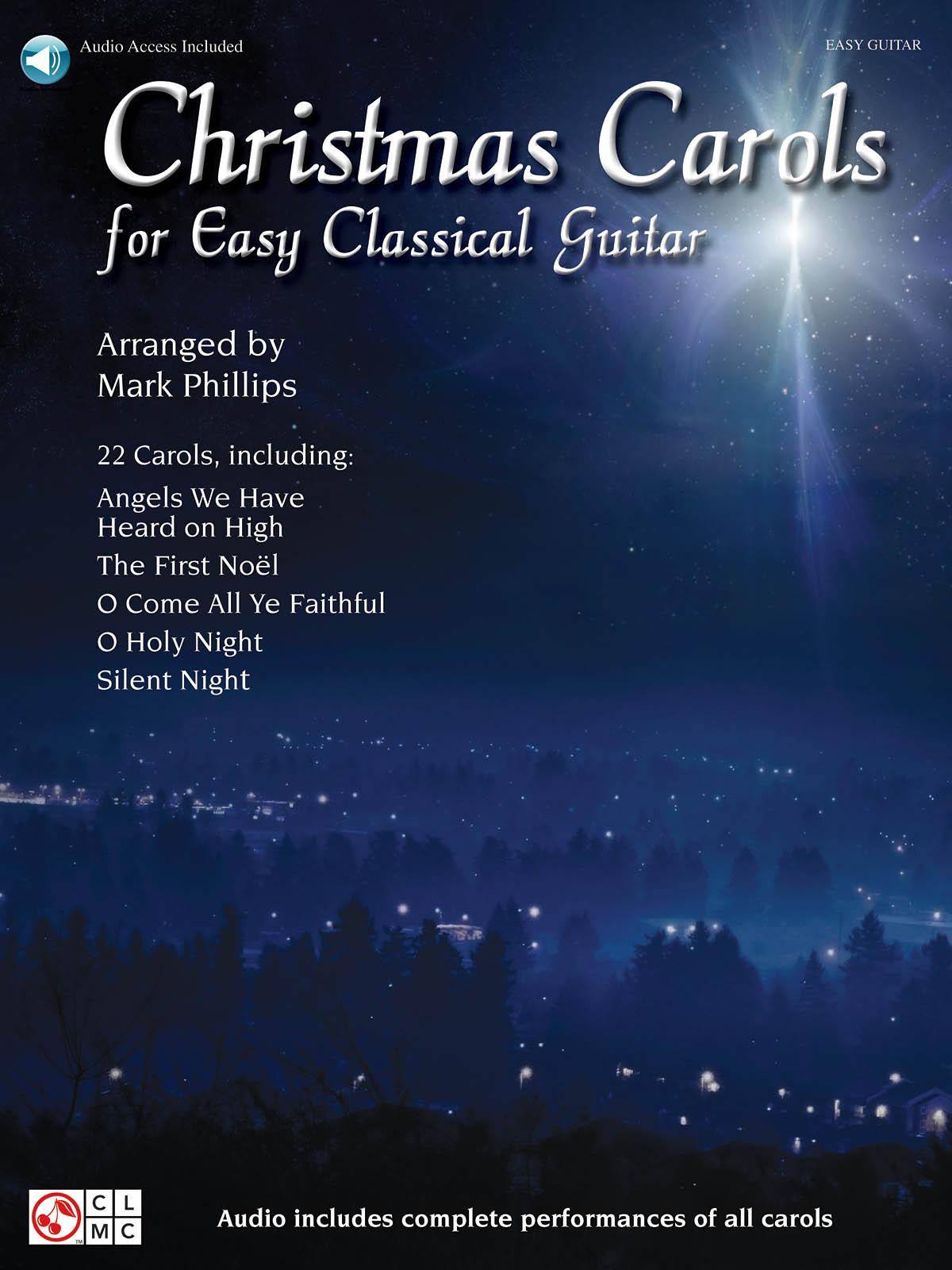 Christmas Carols for Easy Classical Guitar: Guitar Solo: Instrumental Album