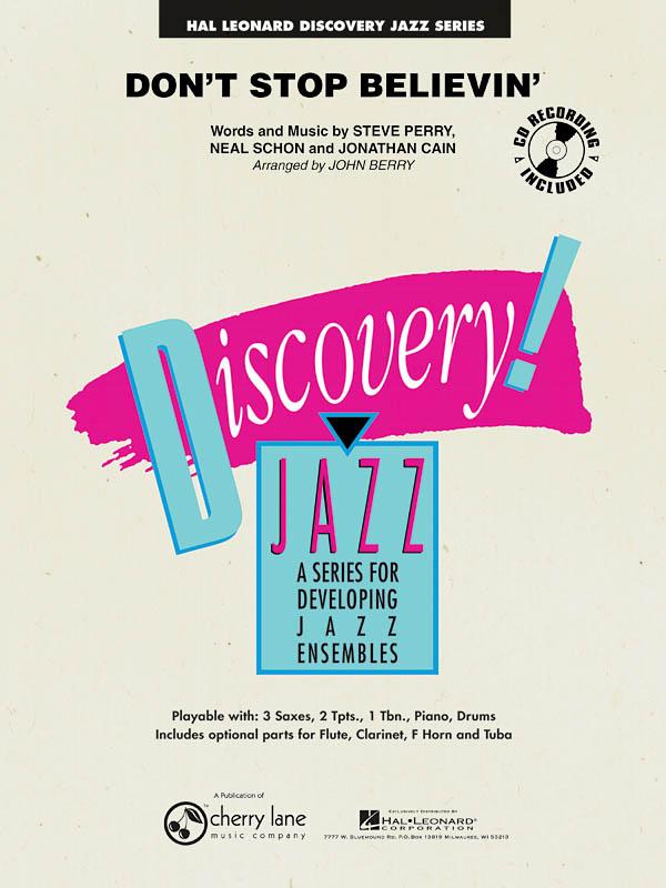 Jonathan Cain Neal Schon Steve Perry: Don't Stop Believin': Jazz Ensemble: Score