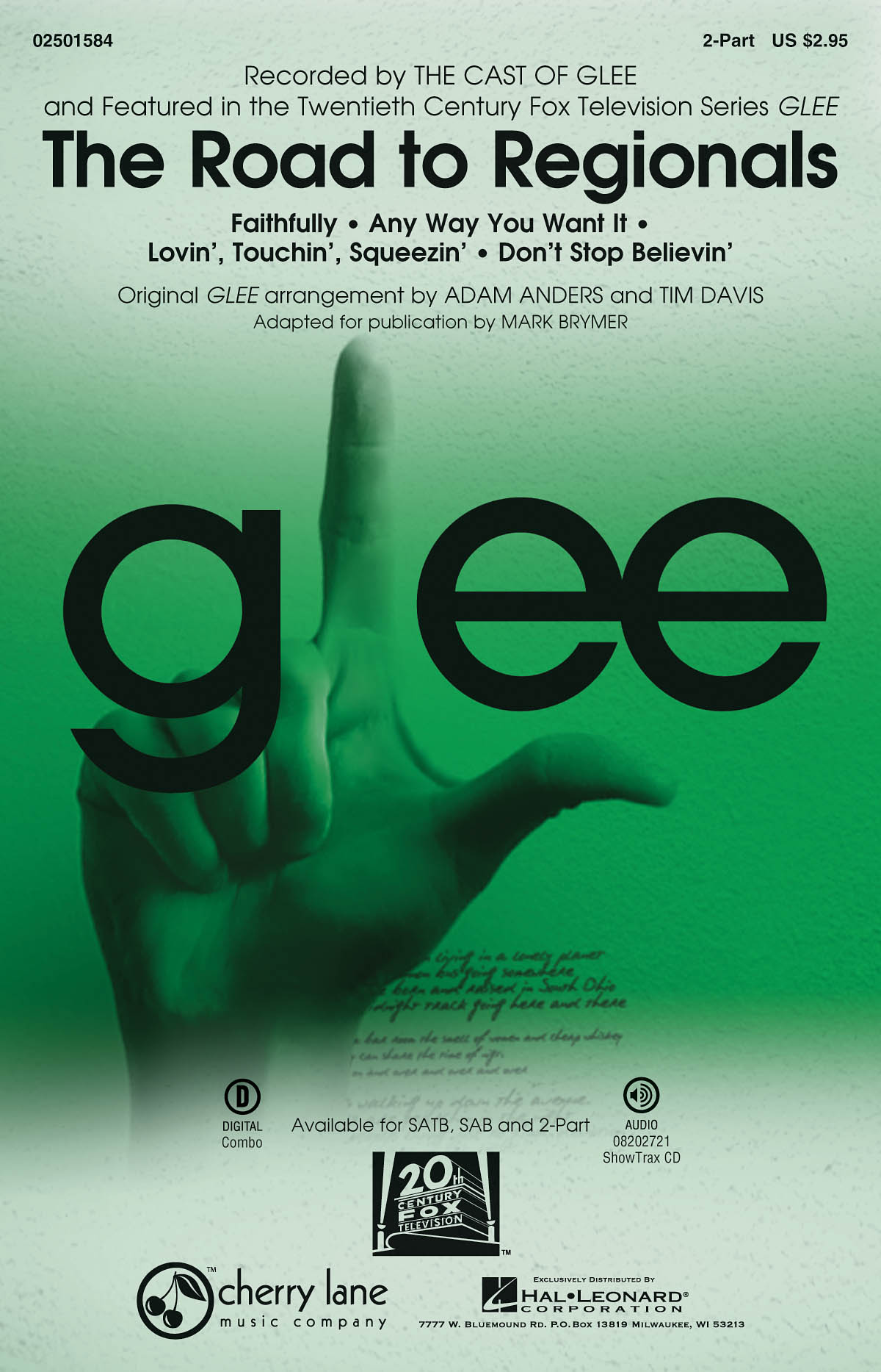 Don/'t Stop Believin/' Glee  SAB and Piano Glee Cast/_Jonathan Cain/_Neal Schon/_Ste