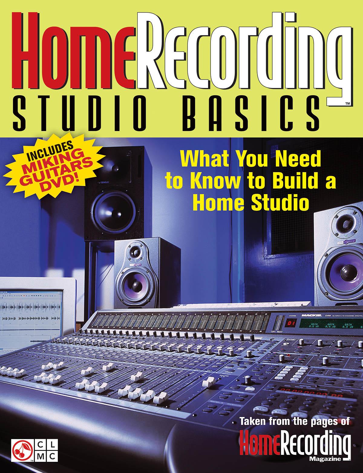 Home Recording Studio Basics: Reference Books