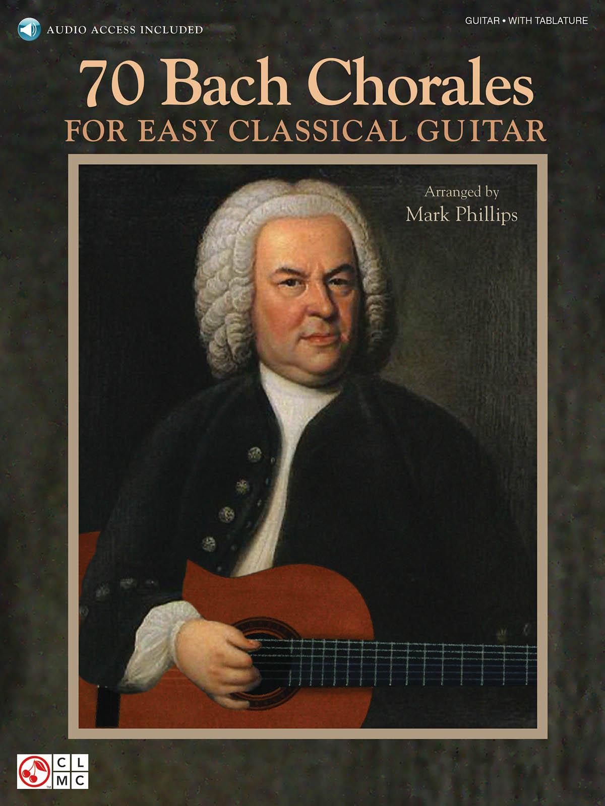 Johann Sebastian Bach: 70 Bach Chorales For Easy Classical Guitar: Guitar Solo:
