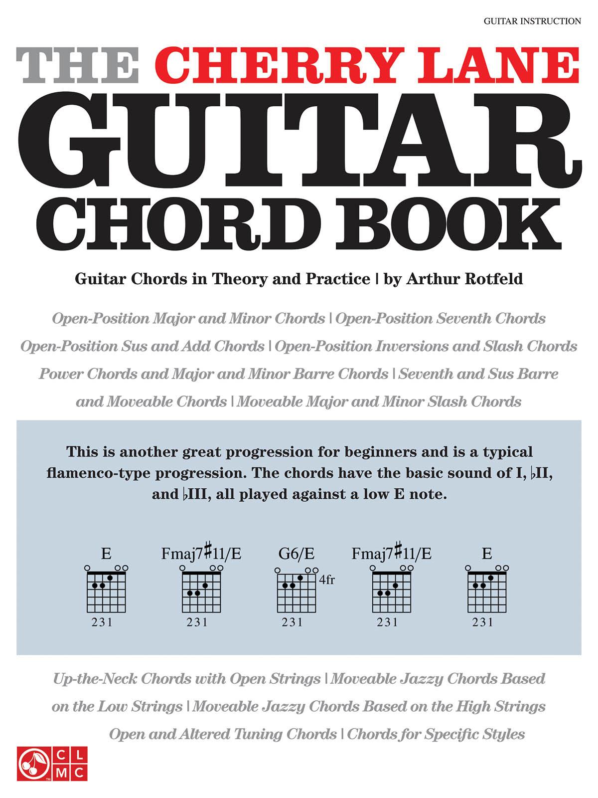 The Cherry Lane Guitar Chord Book: Guitar Solo: Instrumental Tutor
