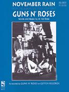 Guns N' Roses: November Rain: Piano  Vocal and Guitar: Mixed Songbook