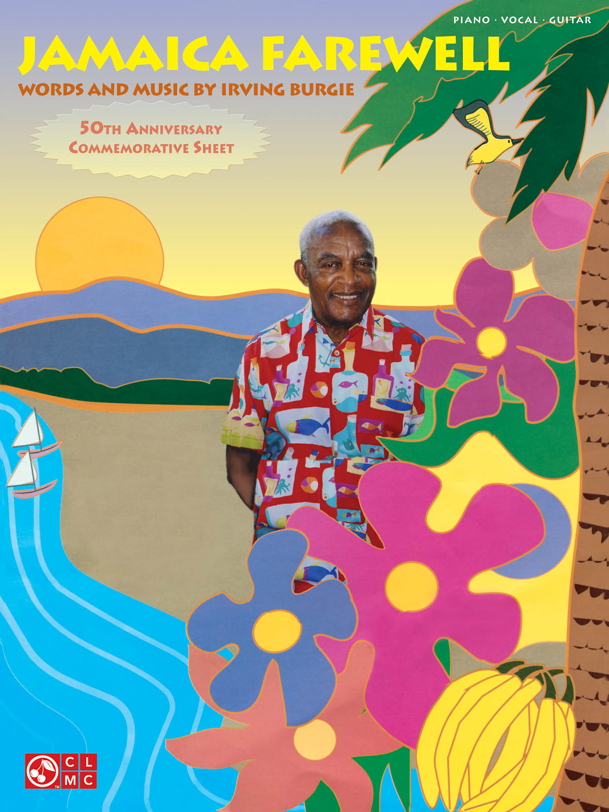 Irving Burgie: Jamaica Farewell: Piano  Vocal and Guitar: Mixed Songbook