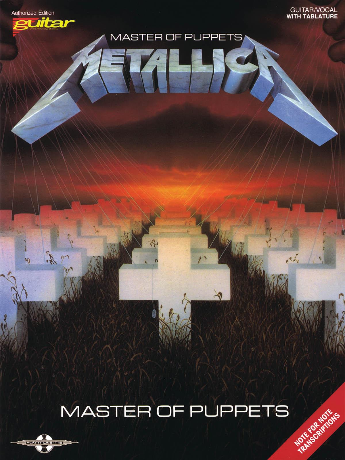Metallica: Metallica - Master of Puppets: Guitar Solo: Instrumental Album