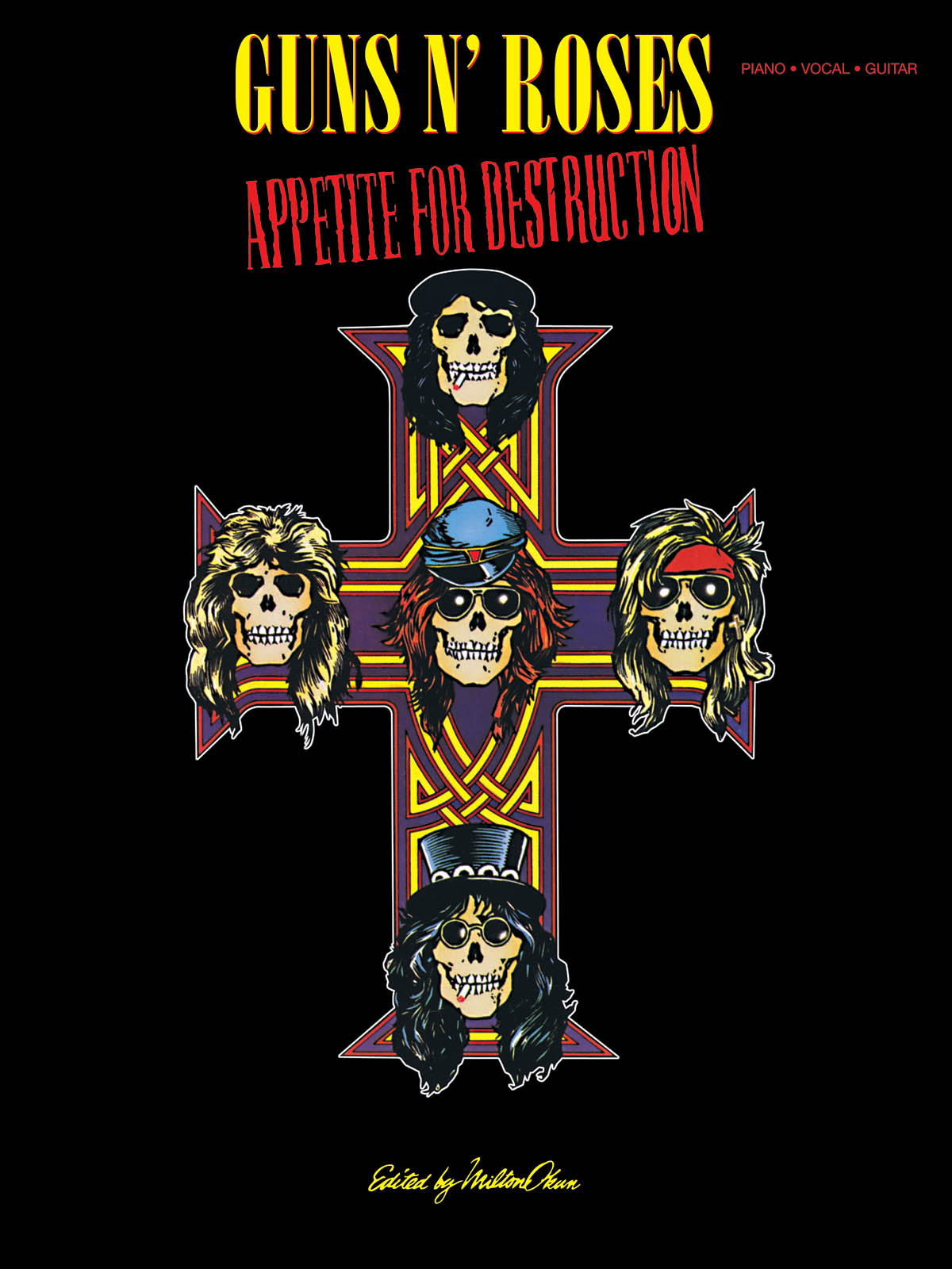 Guns N' Roses: Guns N' Roses - Appetite for Destruction: Piano  Vocal and