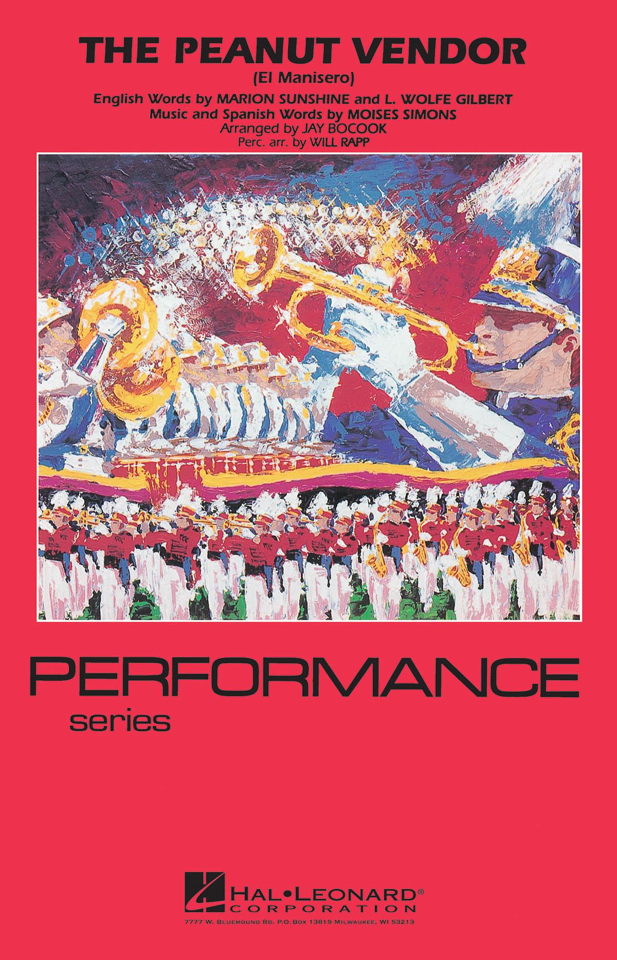The Peanut Vendor: Marching Band: Score & Parts